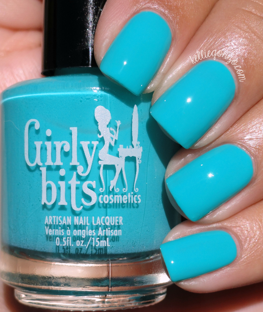 Girly Bits Here's Lagoon Atcha
