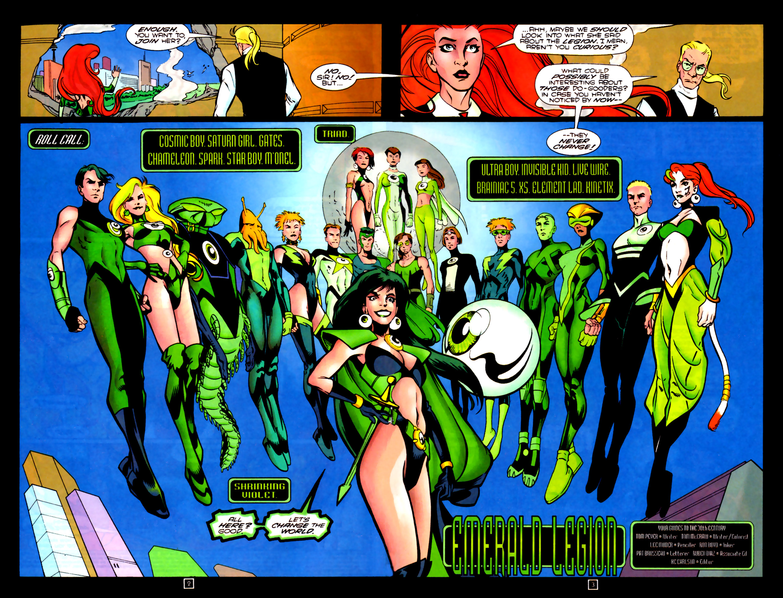 Legion of Super-Heroes (1989) 84 Page 2