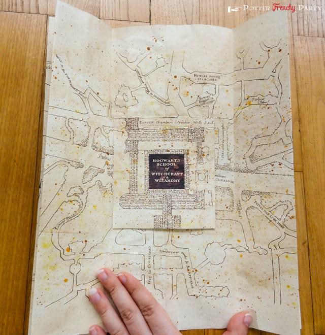 carte du maraudeur à imprimer Potter Frenchy Party   Une fête chez les sorciers: Travaux