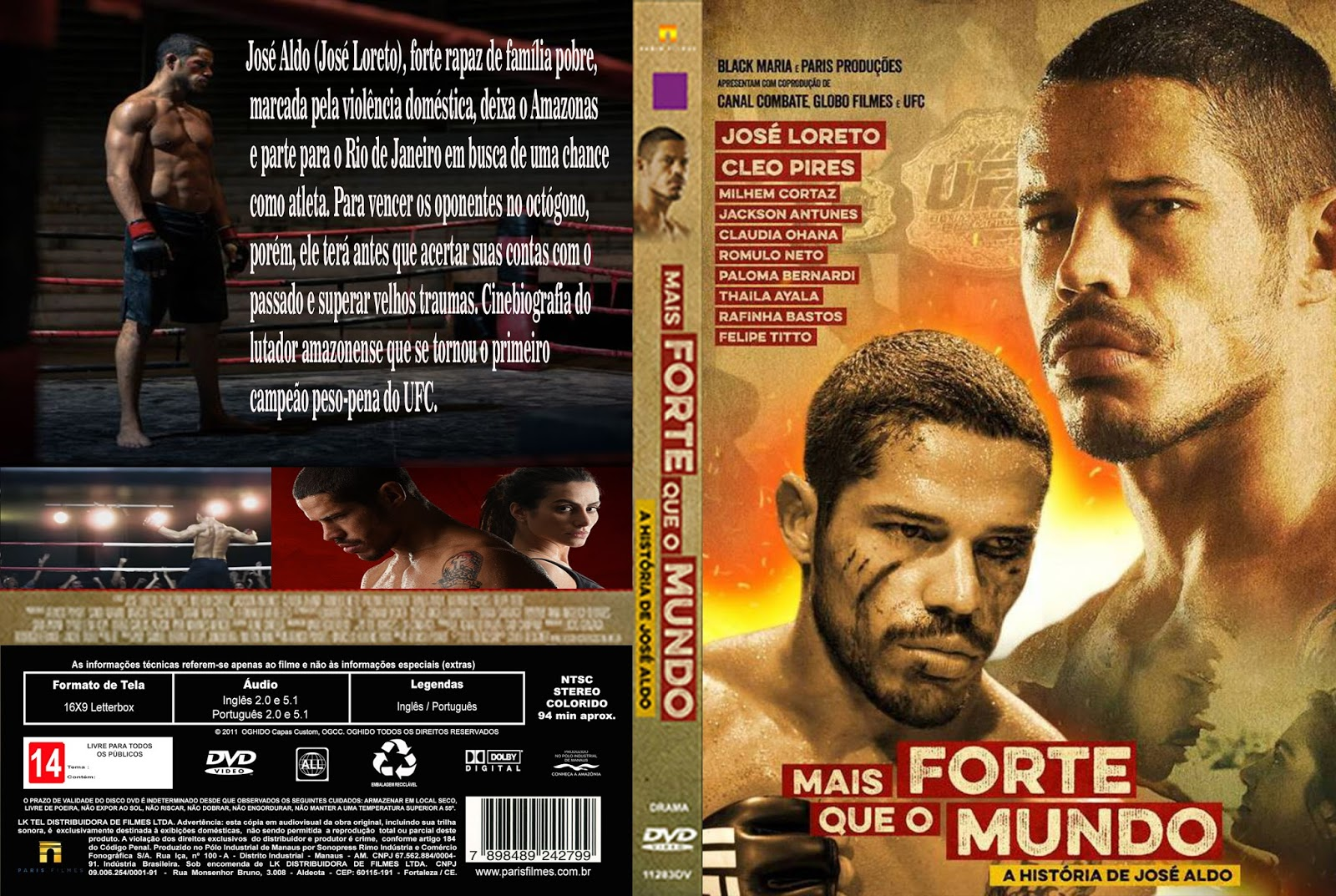 download online Mais Forte Que O Mundo A História de José Aldo (2016) Torrent 720p 1080p 5.1 completo full