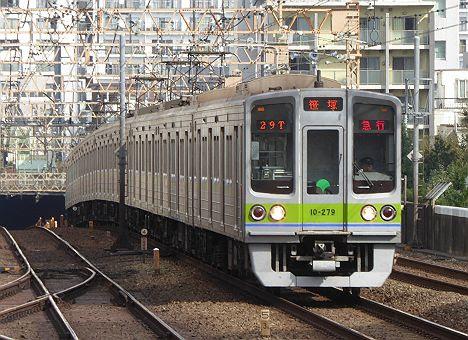 急行 笹塚行き 都営10-000形270F