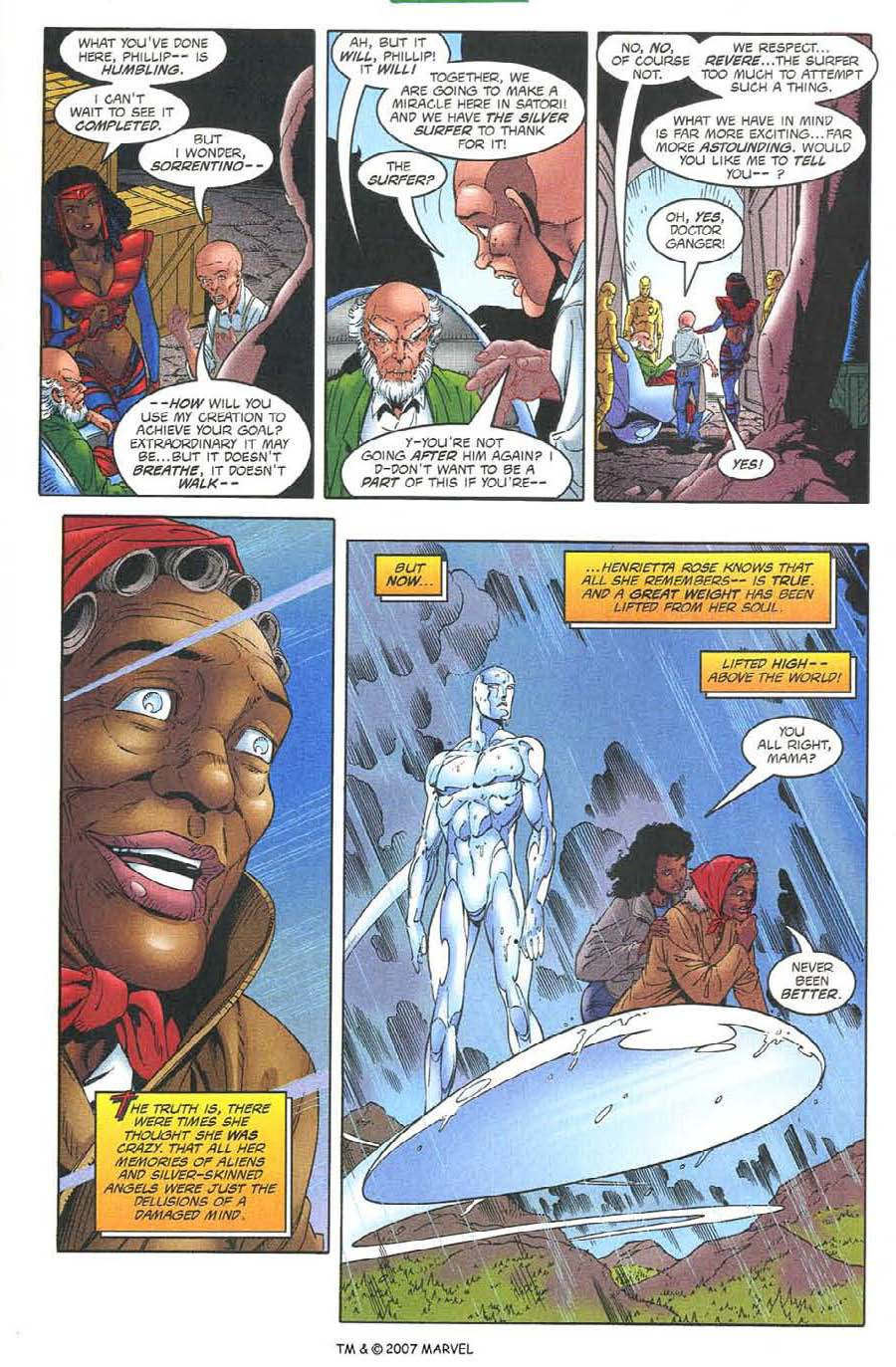 Read online Silver Surfer (1987) comic -  Issue #134 - 19