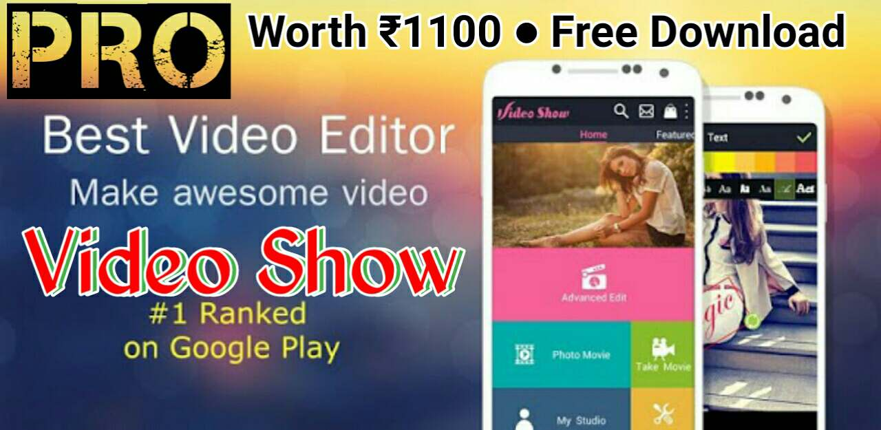 download show video editor