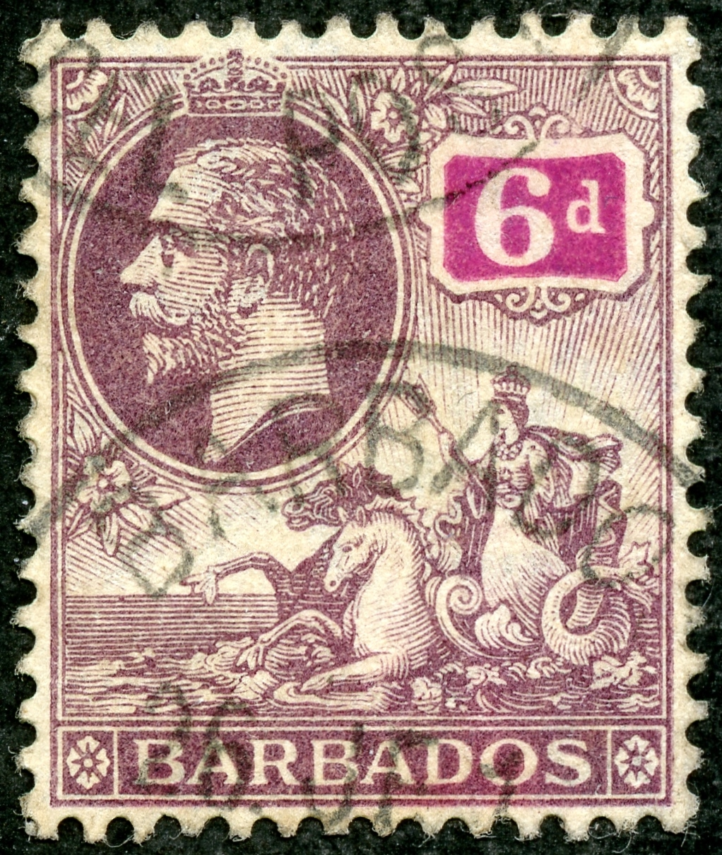 big blue 1840-1940  barbados - a closer look