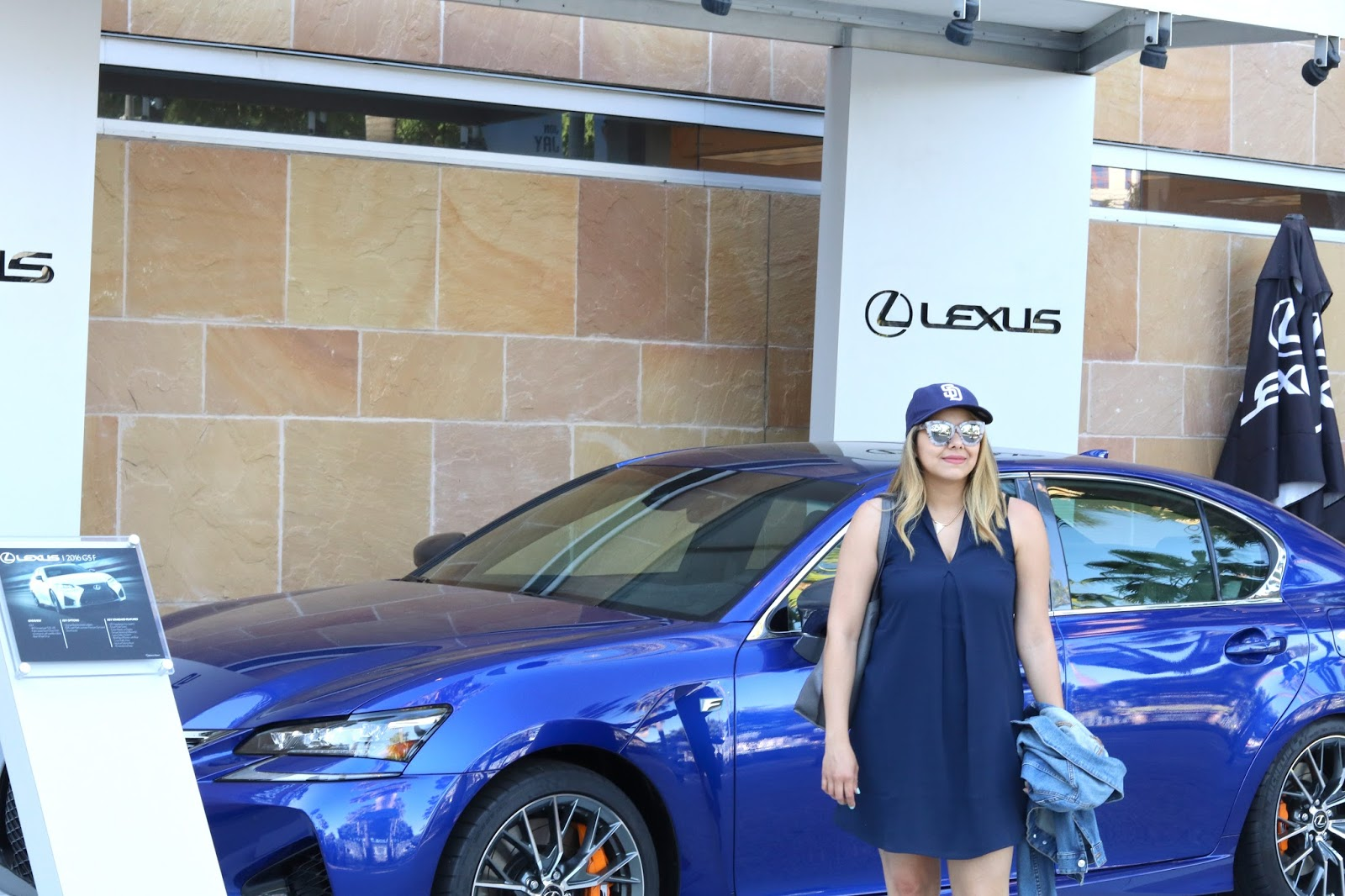 Lexus Home Plate Club, lexus IS, lexus at the Padres game