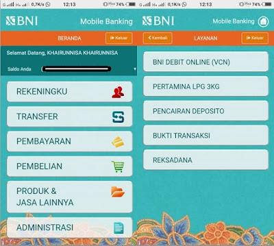 Cara Melihat Bukti Transfer BNI Mobile Banking - Mari Ngenet