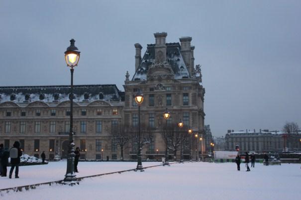 Compras em Paris em janeiro