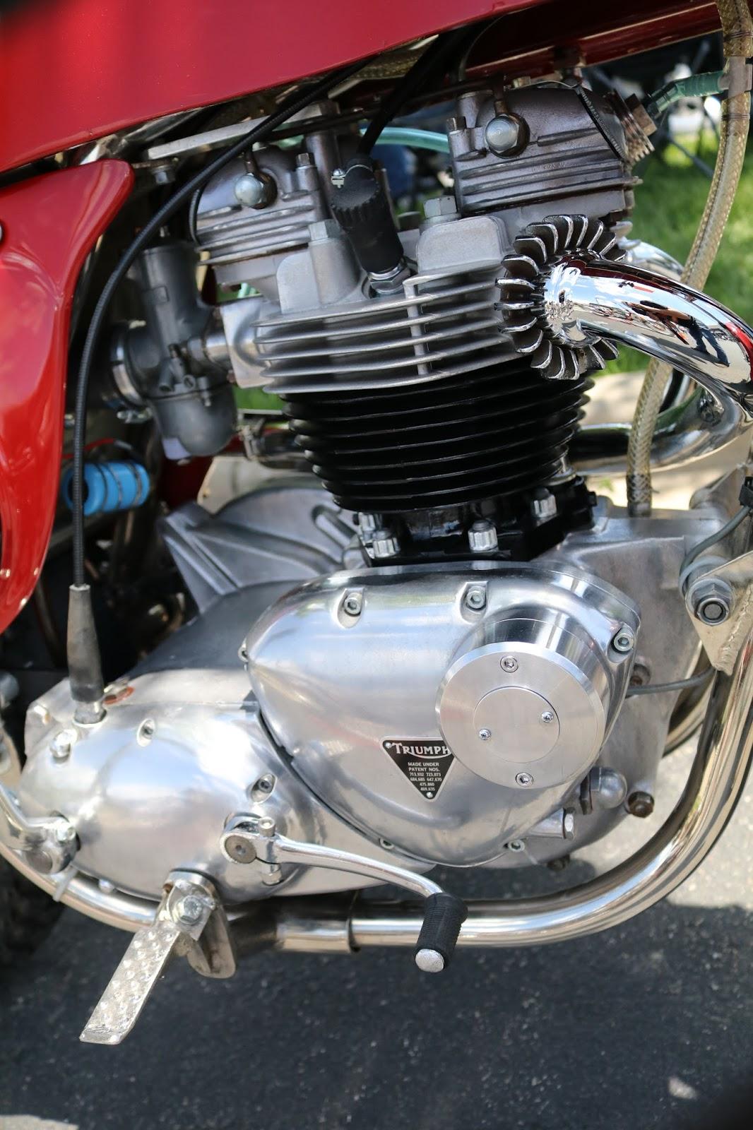 Oldmotodude 1969 Rickman Triumph On Display At The 2017