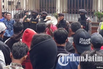Niat Massa Buruh Demo Depan Kantor DPRD Untuk Menemui Anggota Dewan, Eh Malah Kunker Semua