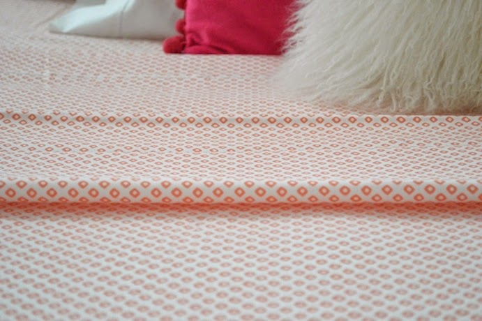 Peacock alley coral sheets