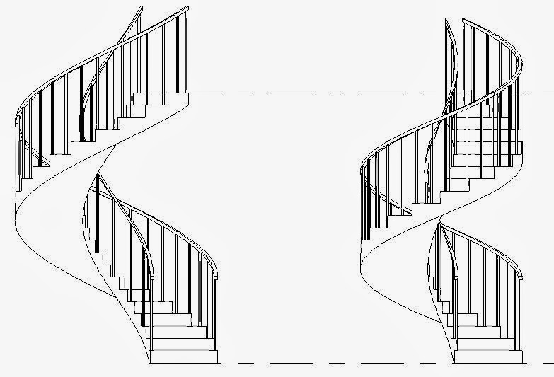 RevitCat: Spiral and Curved Revit Stairs