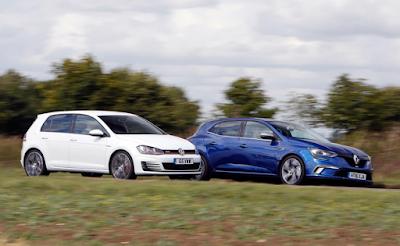 Renault Mégane GT vs Ford Focus vs VW Golf GTI