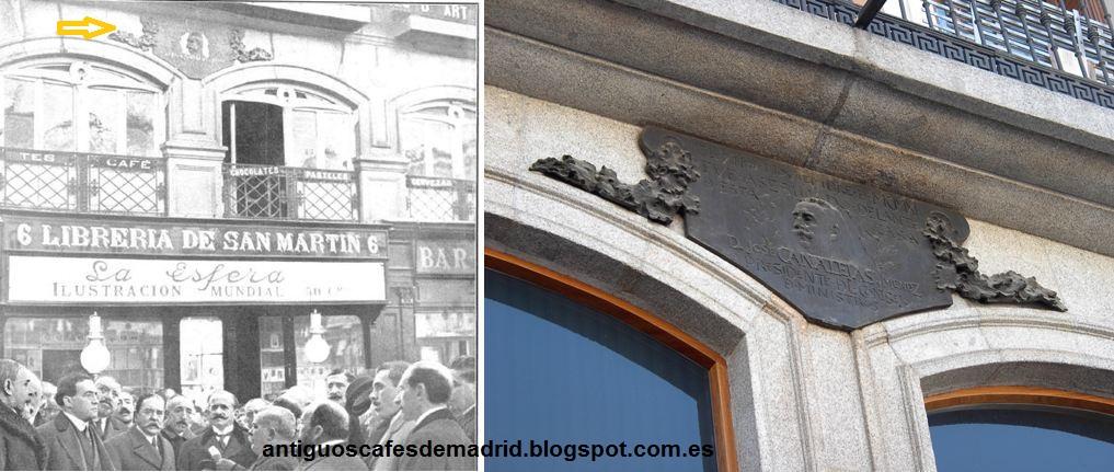 Antiguos caf s de madrid y otras cosas de la villa bar for Libreria puerta del sol