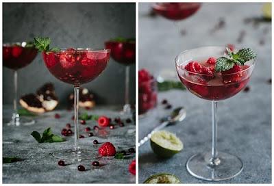 hình ảnh rosé summer cocktail