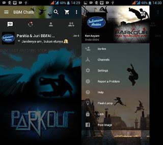 BBM Mod Parkour v2.11.0.18 Apk