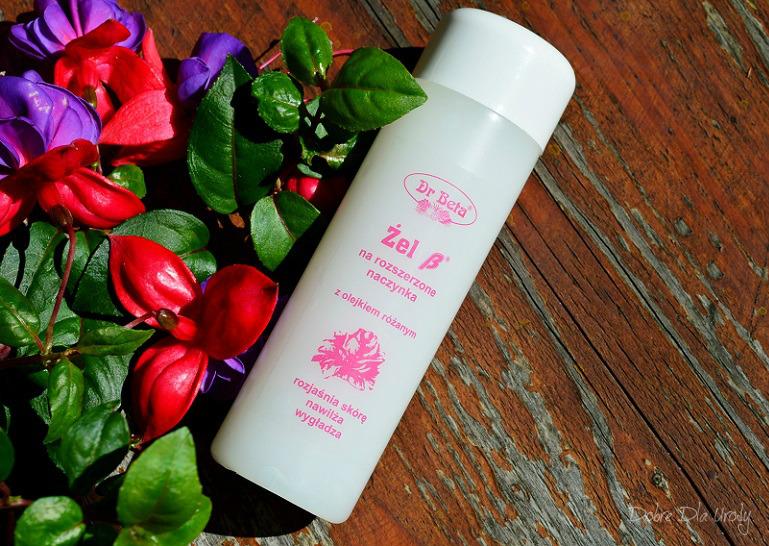 Dr Beta Różane kosmetyki do pielęgnacji twarzy - Żel B z olejkiem różanym