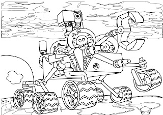Spongebob Coloring Sheets Angry Birds E Planet Pages
