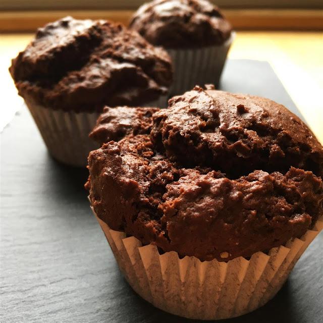 Los mejores muffins de chocolate del mundo