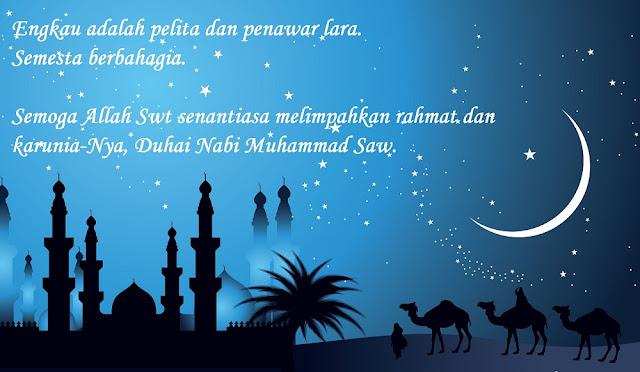 Shalawat Nabi Muhammad SAW dan Terjemahannya