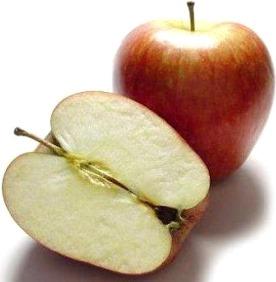 Foto de manzanas con ramita