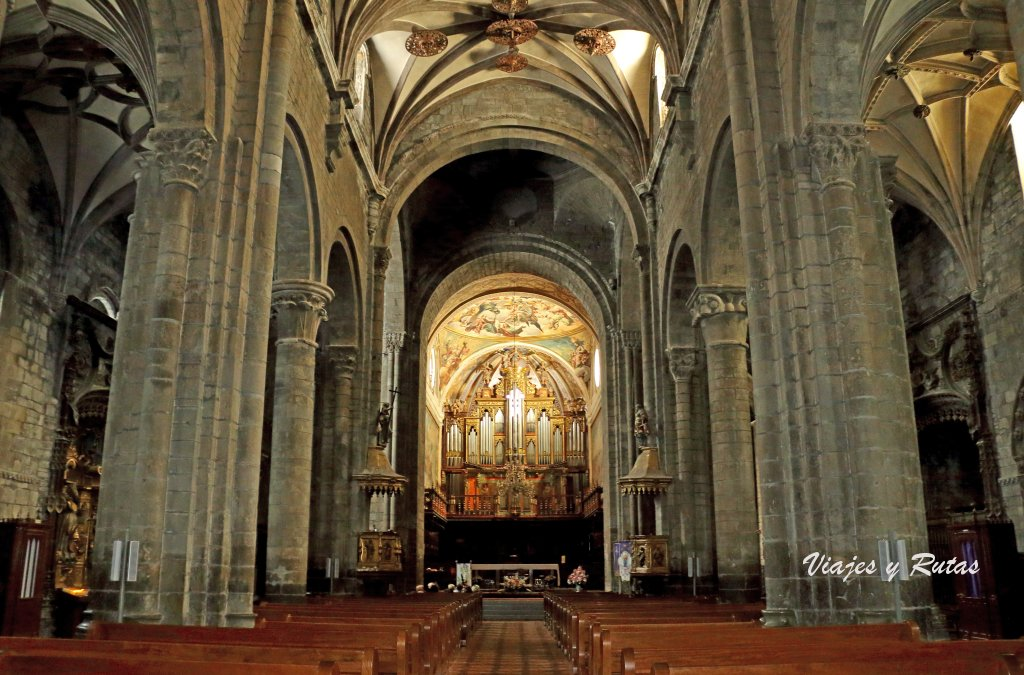 Catedral de Jaca, interior