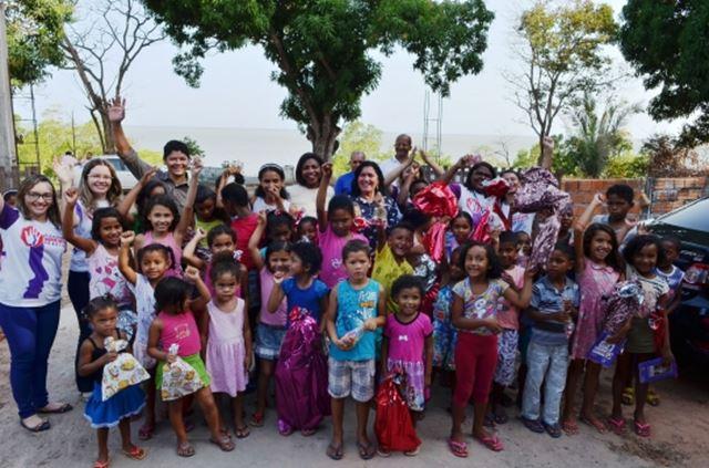 Doações foram feitas nas próprias comunidades. Foto: Ribamar Pinheiro
