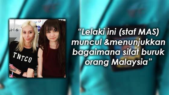 Pendedahan DJ Leng Yein mengenai pekerja MAS yang Kurang ajar