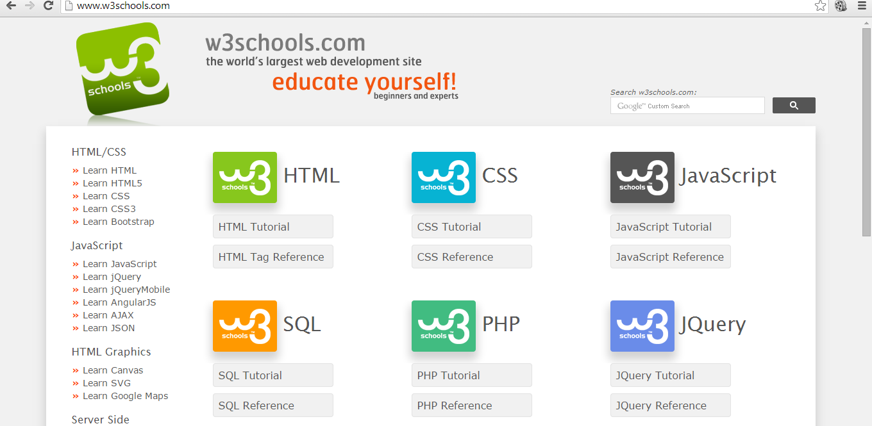 W3Schools - Now