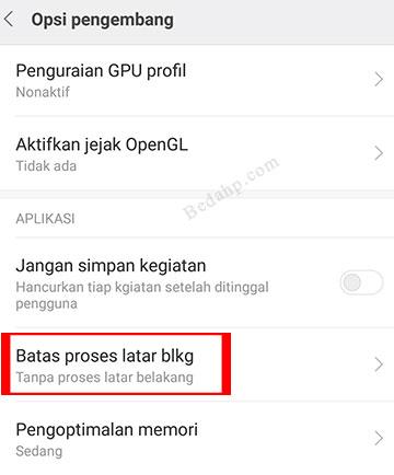 Cara Menambah Kapasitas RAM HP Advan