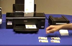 Epson R260 Pvc Card Printer Driver