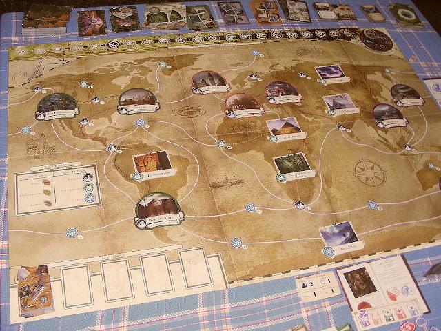 Imagen del mapa del juego Eldritch Horror