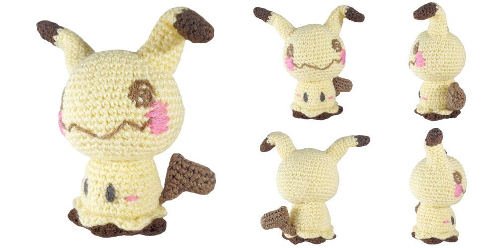 i crochet things: Pattern: Mimikyu Amigurumi