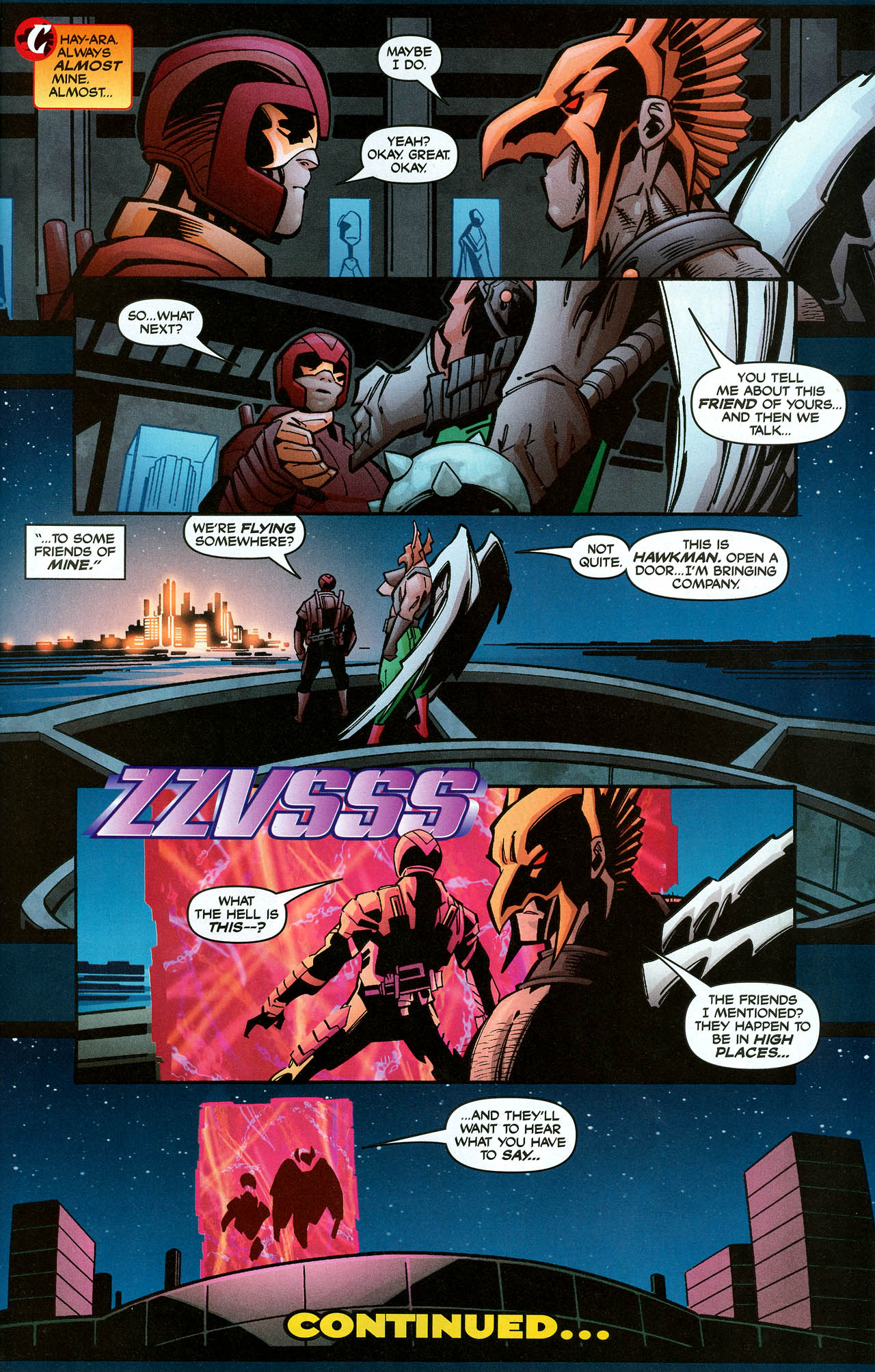 Read online Trinity (2008) comic -  Issue #6 - 31