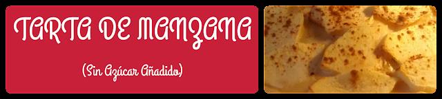 RECETA DE TARTA DE MANZANA SIN HUEVO Y SIN LECHE ( Sin Azúcar añadida)