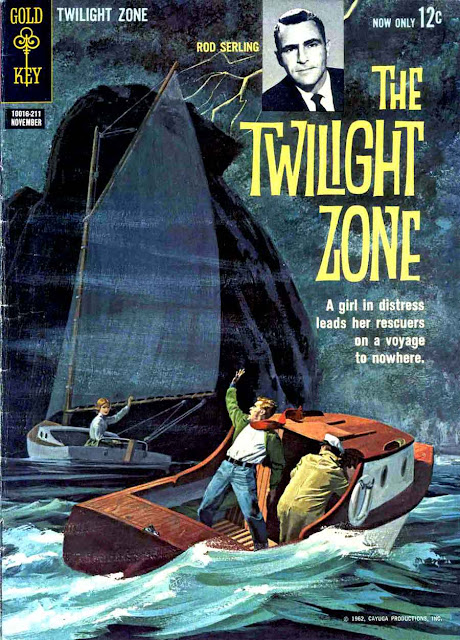 Twilight Zone v1 #1, 1962 gold key silver age comic book cover