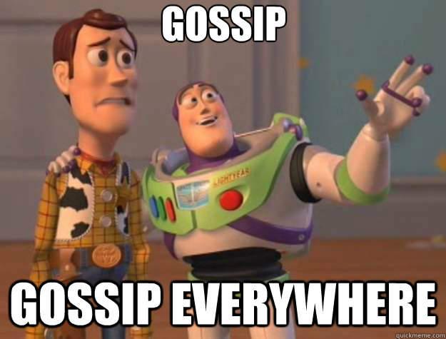 Gosip, itu cuman gosip