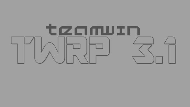 TWRP 3 1 0-Panasonic P55 Novo - Shivom Techdroid