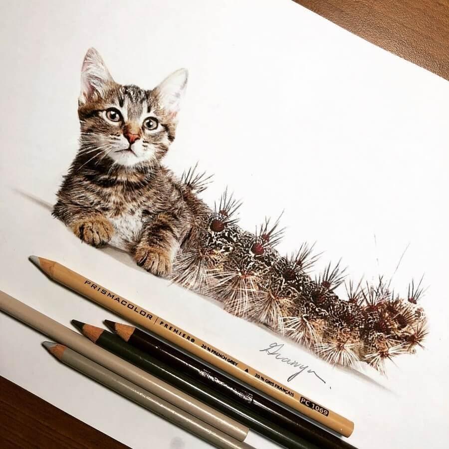 11-Cat-Caterpillar-Guanyu-Animal-Mashup-www-designstack-co