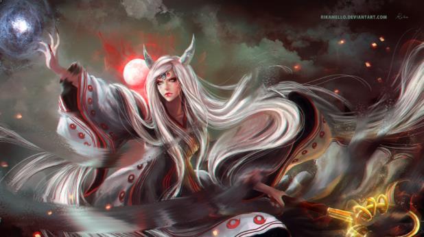 Kaguya Otsutsuki ( Naruto Shippuden ) - Top Immortal Anime Characters