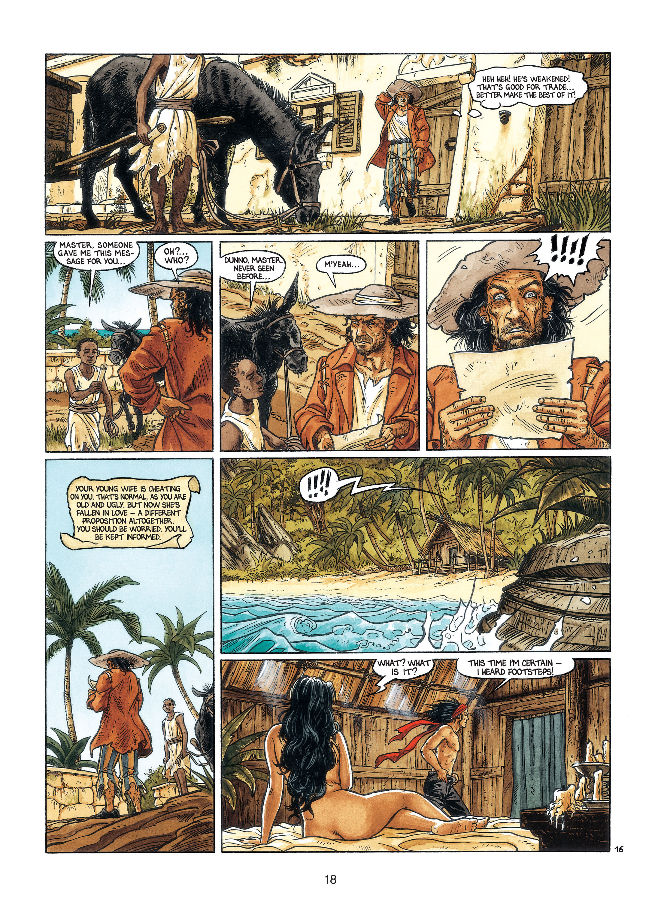 Read online Barracuda comic -  Issue #3 - 19