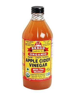 Bragg Apple Cider Vinegar Cuka Apel Mengobati Jerawat di Punggung Alami