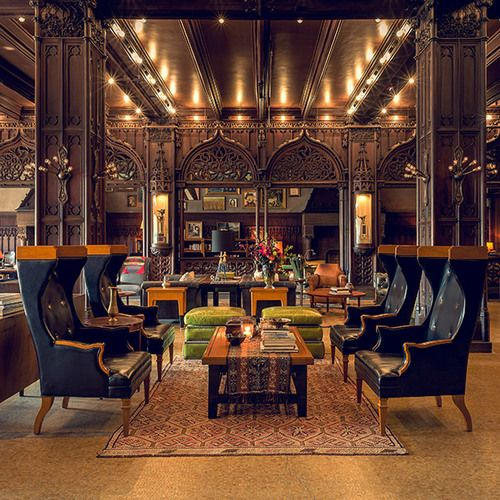 Chicago Athletic Association architecture Roman Williams