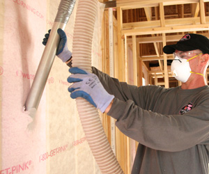 Blown in Wall System - Delmarva Insulation