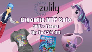 Gigantic Zulily MLP Sale - 380+ Items - Up to 75% Off