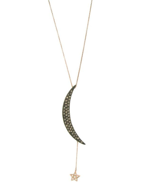 Boulu Sex And The City Moon And Star Necklace