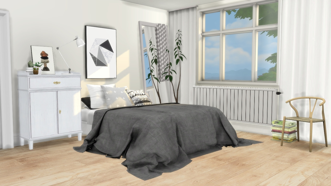 My Sims 4 Blog Bed Blanket Pillows And Decorative