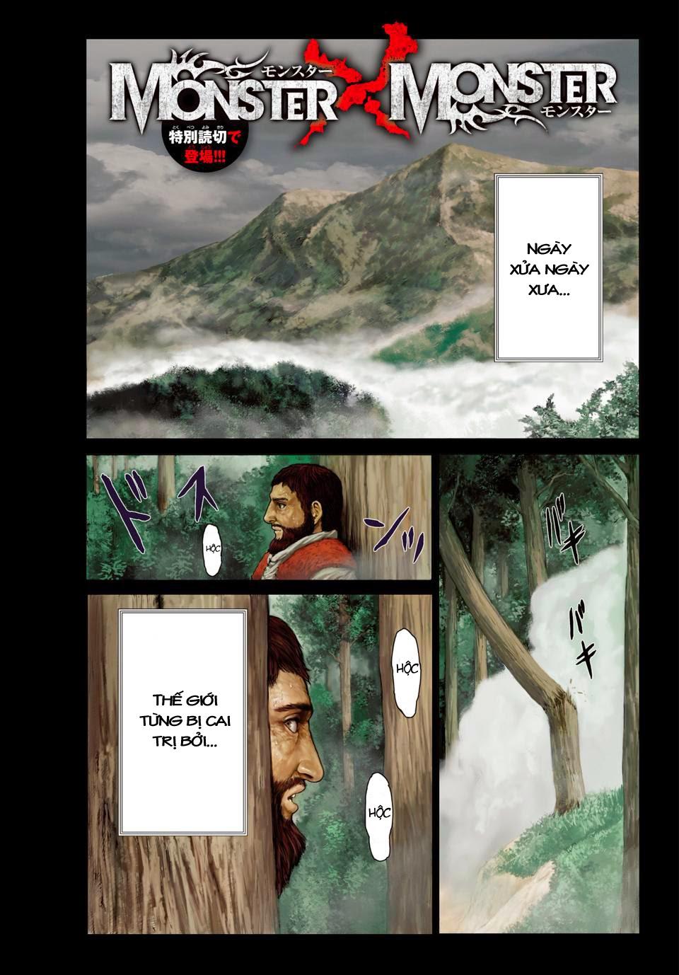 Monster X Monster chapter 1a trang 2