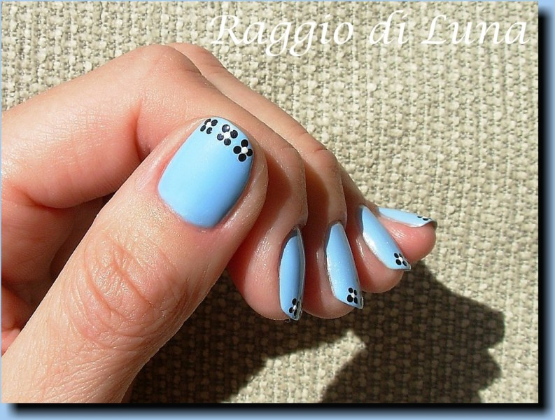 Raggio di Luna Nails: Dot flowers tips