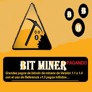 Bitminer Grandes pagos de bitcoin de minería de Versión 1.1 a 1.4 con el uso de referencia