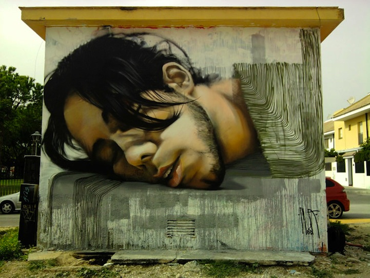Photo Realistic Street Art By Mesa Damn Cool Pictures